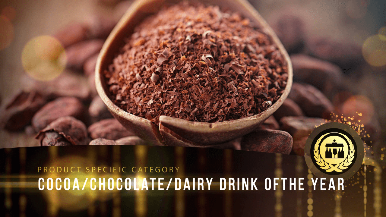 Cocoa/Chocolate/diary drink of the Year