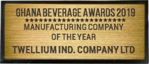 MANUFACTURING COMPANY OF THE YEAR