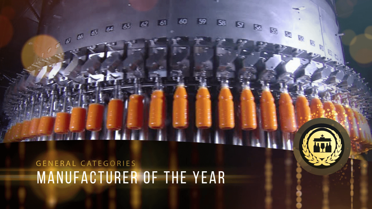 Manufacturer of the year