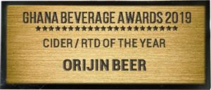 CIDER/RTD OF THE YEAR