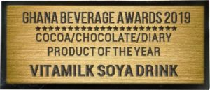 COCOA/CHOCOLATE/DIARY PRODUCT OF THE YEAR